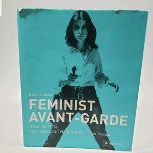 Feminist Avant Garde of the 70sTable Book